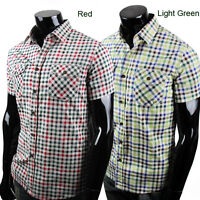 ST952 New Mens Luxury Casual Stylish Short Sleeves Shirts US Size S,M,L,XL