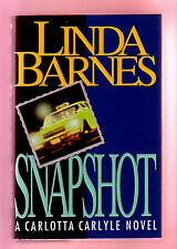 SNAPSHOT (SIGNED Linda Barnes/1st US/Carlotta Carlyle)