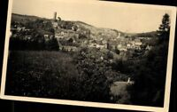 Bad Lobenstein Burg Waldblick Kirche Echt Fotografie Ansichtskarte Postkarte AK