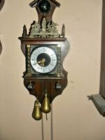 Vintage aanse Dutch Pendulum Wall Clock