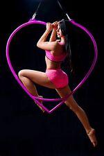Aerial heart hoop, lyra, cerceau
