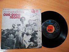 DUO OURO NEGRO CONSTRUCAO 3-track EP vinyl single from Portugal Chico Buarque