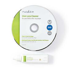 Laufwerk u. Laser Linsen Reinigungs DVD + Flüssigkeit für CD DVD Blu-Ray Spieler
