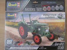Revell Deutz D30 1:24 Traktormodell mit Easy-Click-System (07821)
