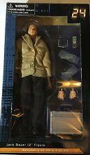 "DIAMOND USA 24 KEIFER SUTHERLAND AS AGENT JACK BAUER 12"" FIGURE...NEW IN BOX!"