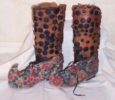 ORIGINAL SCREEN USED XENA WARRIOR PRINCESS PROP WARDROBE - GABBY BOOTS