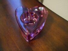 Partylite Purple Votive Heart Shaped Candle Holder