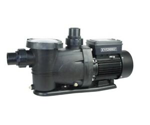 Everbilt In Ground Pool Pump 1HP - Filter & Recirculate Water 65gpm