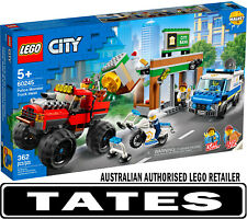 LEGO 60245 Police Monster Truck Heist CITY from Tates Toyworld