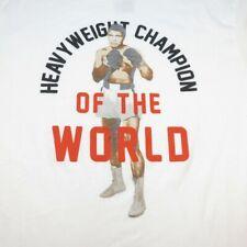 21 MEN Muhammad Ali Heavyweight Champion of the World BOXING T SHIRT Sz Mens XL