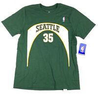 New NBA KEVIN DURANT SEATTLE SUPERSONICS T-Shirt Mens Sz Youth Large Jersey