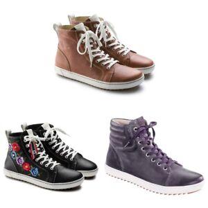 Birkenstock Bartlett Women Sneaker   Sports Shoe   Skate   Natural Leather - NEW