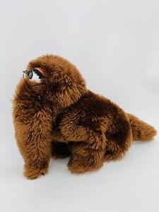 "Vintage Sesame Street Muppet Snufalufagus 10"" Hand Puppet Plush Toy"