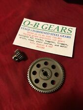 O-B GEARS Redcat Racing Upgraded Hardened Steel Gears 64T Spur 21T Pinion 4s Lpo