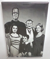 "Munsters Vintage Photo 2"" x 3"" Refrigerator Locker MAGNET Herman Grandpa B&W"