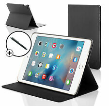 Black Clam Shell Smart Case Cover Stand for Apple iPad Mini 4 2015 + Stylus