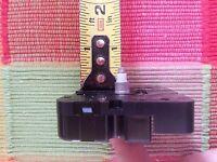 SHORT SHAFT Battery Quartz Clock Movement - No Hands - MVT Only - USA Made 982A