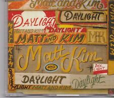 Matt And Kim-Daylight promo cd single