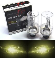 HID Xenon D2R Two Bulbs Head Light 3000K Yellow Bi-Xenon Replacement Low Beam