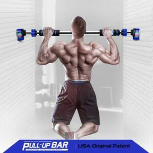 "Doeplex Pull Up Bar Door Exercise Workout Bar with 27.6""-35.4'' Adjustable Width"