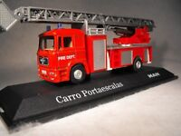 Model Fire Engine Small Diecast Fire Brigade Truck MANN F2000 MODEL FIRE ENGINE