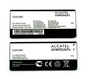 GENUINE ALCATEL TLI015M1 BATTERY FOR  ONE TOUCH PIXI 4 4.0 / 4034/ 4034D 1500mAh