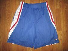 Mens Nike basketball mesh athletic shorts sz L Lg