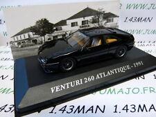 M Voiture 1/43 IXO altaya Voitures d'autrefois : VENTURI 260 Atlantique 1991