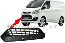Ford Transit Custom 2012-2018 Front Bumper Grille Centre Upper High Quality New