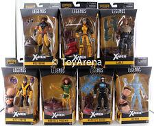 Marvel Legends X-Men Juggernaut BAF Series Set of 7 Wolverine Rouge Figures