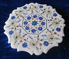 """23"""" Marble center / Coffee Table Top Inlay Marquetry Work"""