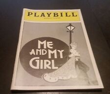 Me And My Girl Playbill - Marquis Theatre -1988 - Jim Dale / Ellen Foley