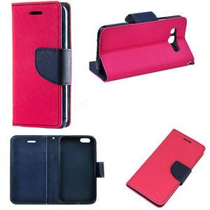 Fancy Buch Handy Tasche f Samsung Galaxy S7 Edge SM-G935F Seiten Klapp Case PINK