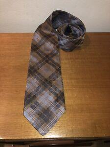 GANT Tie Men's - Wool - Silver, Bronze, Platinum: Made in Italy - 9.4cm Wide