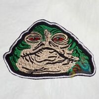 Oola Face Embroidered Patch Star Wars Jabba the Hutt Palace Jedi Luke Obiwan