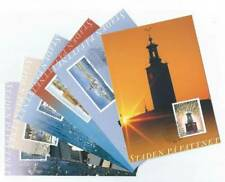 17672) SWEDEN 1998 FDC MAXI CARD(x6) City of Stockholm