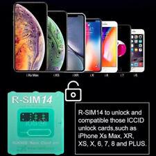 New RSIM 14 R-Sim Nano Unlock Card for iPhone XS Max/XR/X/8/7/6/5s 4G iOS 12 lot