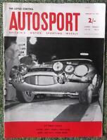 AUTOSPORT MAGAZINE JANUARY 25 1963 - LOTUS CORTINA, MONTE CARLO RALLY REPORTS