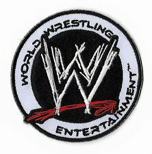 WWE Patch World Wrestling Entertainment Embroidered Iron on Badge Hat Cap Bag