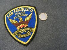 PATCH  police    us    san francisco  police academy