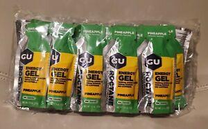 GU Roctane Ultra Endurance Energy Gel 24-Count Pineapple