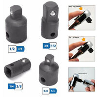 """4PCS 1/4"""" to 3/8"""" 1/2 inch Drive Socket Adapter Converter Reducer Air Impact"""