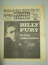 NME #917 AUGUST 7 1964 BILLY FURY JIM REEVES KEN DODD MANFREDS DIONNE WARWICK