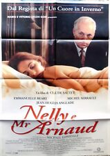 manifesto movie poster 2F NELLY E MR ARNAUD CLAUDE SAUTET BEART CINEMA