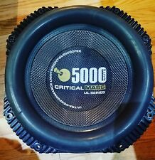 "CRITICAL MASS AUDIO UL12 5000W 12"" SUBWOOFER BEST SPL COMPETITION SPEAKER"