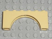 Tan arch ref 3307 LEGO / Set 4714 7159 4757 4854 6243 7419 10182 4501 10123 4704