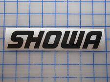 "Showa Decal Sticker 5.5"" 7.5"" 11"" Shocks Forks Seals Tool Oil Struts Compressor"