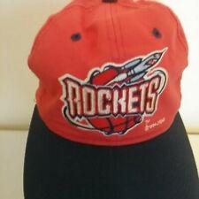 Red Snapback Hat/Cap 1994 Houston Rockets Old Logo