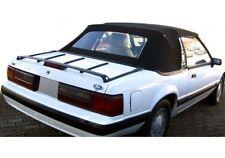 1983 1984 1985 1986 1987 1988 Mustang Convertible Top - Vinyl window Black NEW