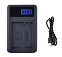 Battery Charger For Canon PowerShot SX620, SX720, SX730, SX740 HS Digital Camera